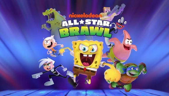 Nickelodeon All-Star Brawl. (Difusión)