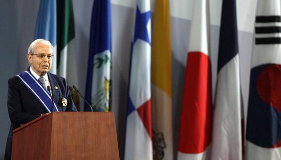 Javier Pérez de Cuéllar fue el quinto secretario general del organismo entre enero de 1982 y diciembre de 1991.(Foto: AFP)