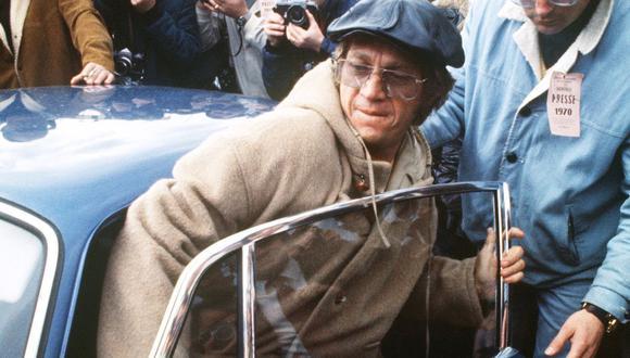 Fotografía del actor Steve McQueen tomada el 1 de abril de 1970, unos  meses después del asesinato de Sharon Tate y Jay Sebring por miembros de la Familia Manson. (Foto: AFP)