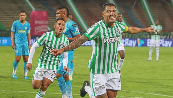 Atlético Nacional venció a Jaguares y alcanzó la punta de la Liga Betplay | Foto: @nacionaloficial