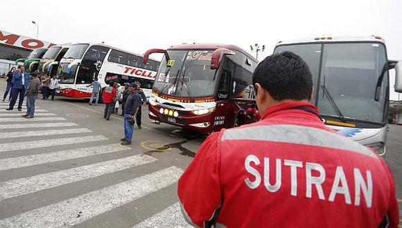 La Sutran, organismo adscrito al MTC, se encarga de hacer cumplir la normativa sobre los servicios de transporte y tránsito terrestre en el país. (Foto: GEC)