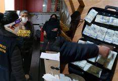 Junín: de esta forma operaba presunta organización criminal que guardaba más de medio millón de soles en maletas