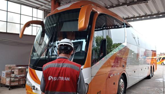 Medida busca combatir la informalidad en el transporte de pasajeros y garantizar el cumplimiento de las medidas de bioseguridad contra el COVID-19. (Foto: Sutran)