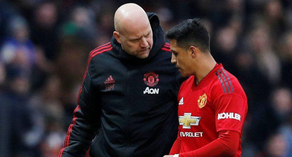 Alexis Sánchez realizaba un buen partido contra Reading, por la tercera etapa de la FA Cup. Sin embargo, sufrió un problema físico que lo obligó a salir del campo. (Foto: AFP)