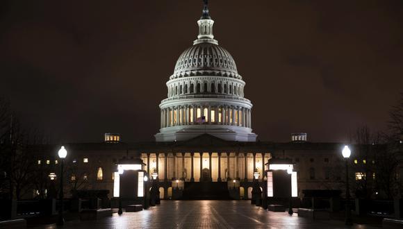 El Capitolio tras el debate :) (Foto: APJ. Scott Applewhite)