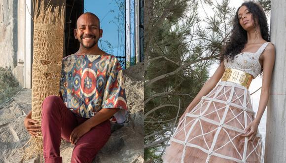 Louis Pisconte presenta seis tenidas inspiradas en la cultura Nazca y sostenidas por tres aspectos: el mundo animal, el ímpetu militar y la sexualidad. (Fotos: Edwad Alba)