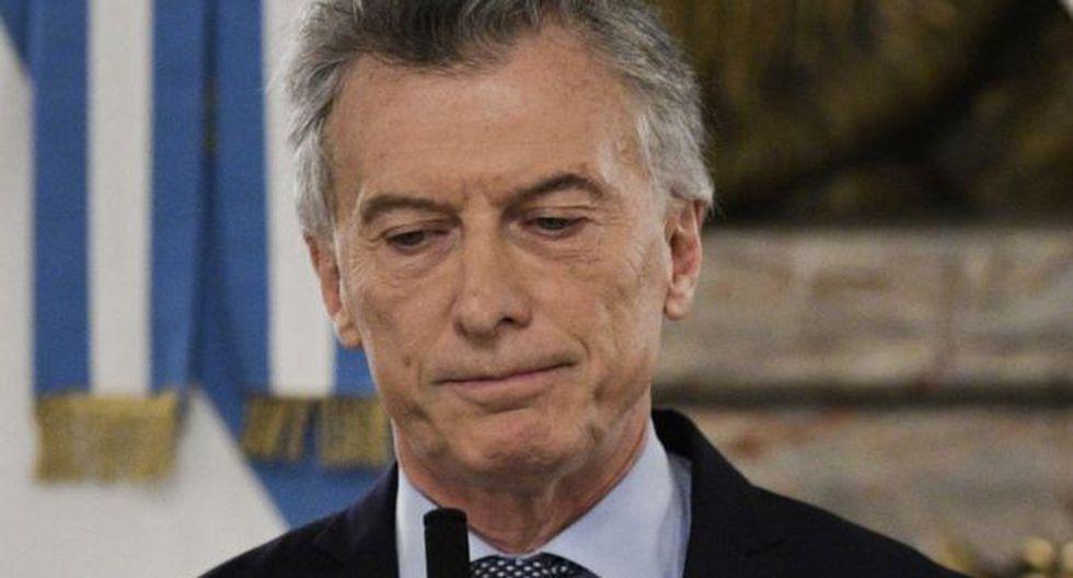 Macri prometió resolver la economía. No lo hizo. Y perdió. Foto: GETTY IMAGES, vía BBC Mundo