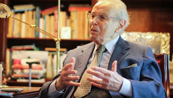 Javier Pérez de Cuéllar falleció el miércoles 4 de marzo a los 100 años de edad   Foto: GEC