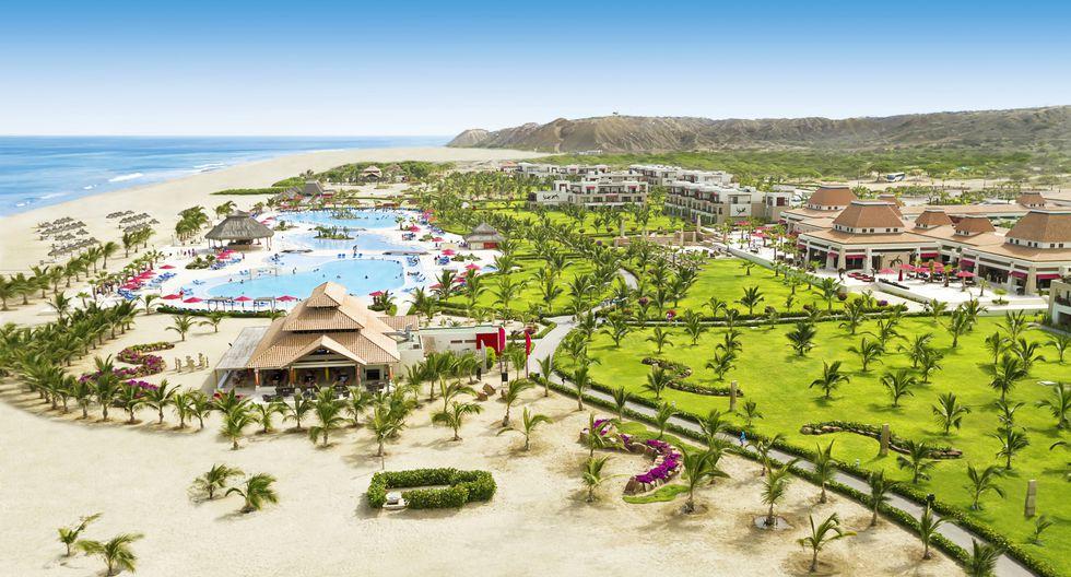 El hotel Royal Decameron Punta Sal cuenta con un kilómetro y medio de playa. Foto: Hotel Decameron Punta Sal.