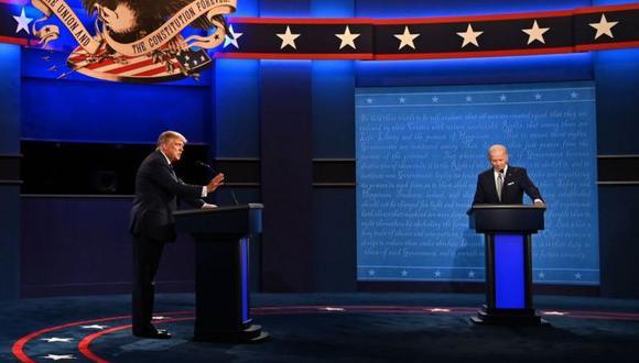 Trump y Biden se medirán en las urnas el 3 de noviembre. (Getty Images).