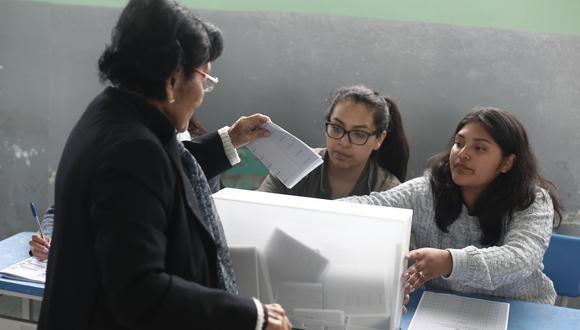 El Reniec presentó su padrón electoral que deberá ser validado por el JNE. (Foto: César Campos / GEC)