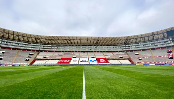 Estadio Nacional de Lima. Foto: FPF