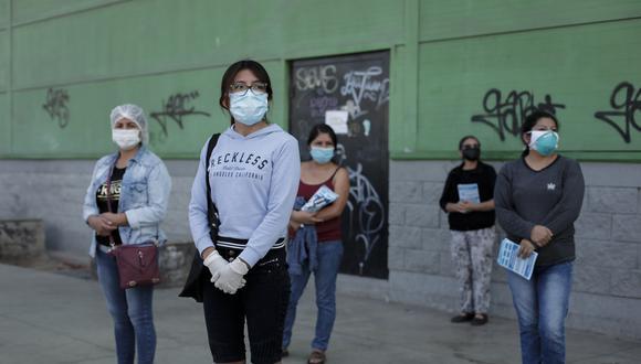Número de personas infectadas con COVID-19 se elevó en el país. (Foto: Anthony Niño de Guzman/ GEC)