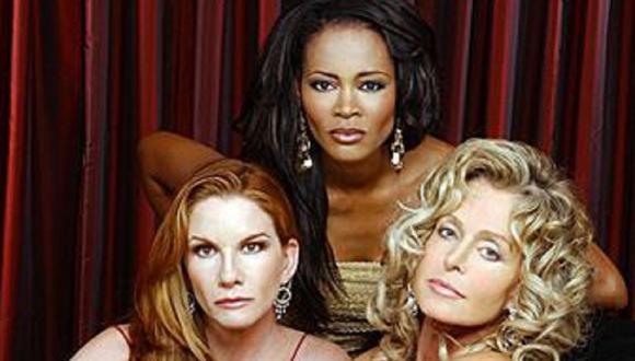 "Melissa Gilbert, Robin Givens y Farrah Fawcett fueron las protagonistas de ""Hollywood Wives: The New Generation""  (Foto: CBS)"