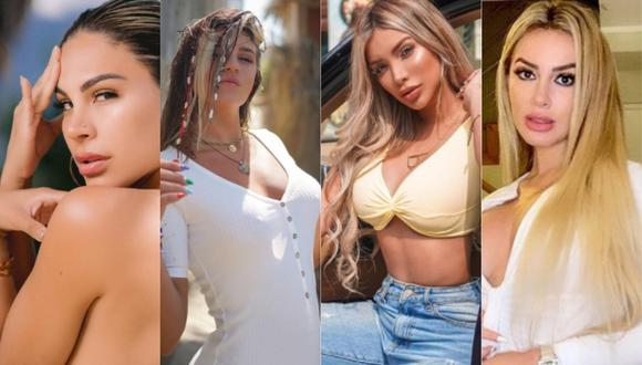 Stephanie Valenzuela se divierte en Tulum junto a Paula Manzanal, Jamila Dahabreh y Macarena Vélez. (Foto: Instagram/Composición)