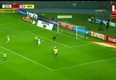 Perú vs. Brasil: Pedro Gallese salva a su arco del empate con gran atajada | VIDEO
