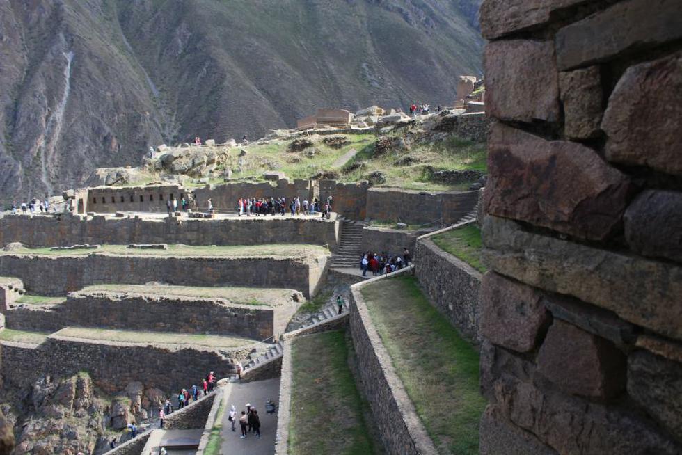 Ollantaytambo es uno de los principales atractivos turísticos del país. Es una parada obligatoria antes de ir a Machu Picchu. (Foto: Miguel Neyra / El Comercio)