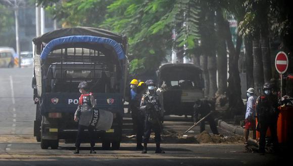 """Aung Thura habría sido """"detenido"""" junto a otro hombre de prensa en Myanmar. (Foto de archivo: STR / AFP)"""
