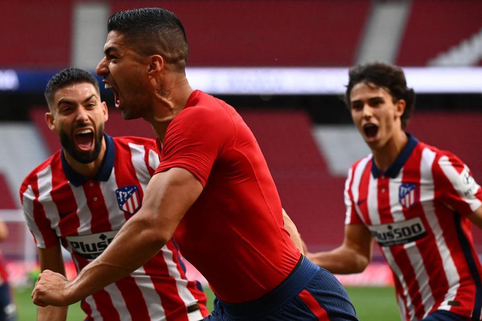 Atlético de Madrid vs. Osasuna: imágenes del duelo por la fecha 37 de LaLiga Santander. (Foto: AFP)