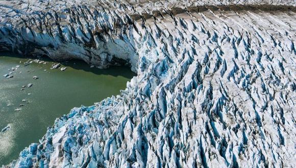 Estudio de la Universidad Estatal de Ohio determinó que el derretimiento del casquete glaciar en Groenlandia es irreversible. (Foto: AFP)