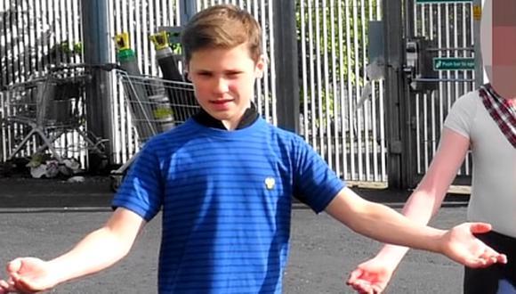 El joven actor era considerado como el nuevo Billy Elliot por parte de los expertos en la actuación. (Captura de pantalla)