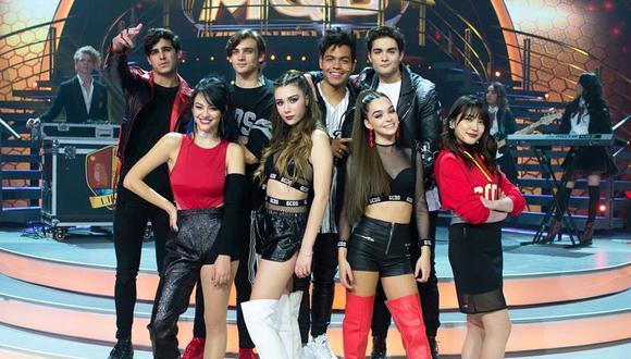 "El elenco principal de ""Like, la leyenda"", la novela juvenil que llega esta semana. (Foto: Las Estrellas)"