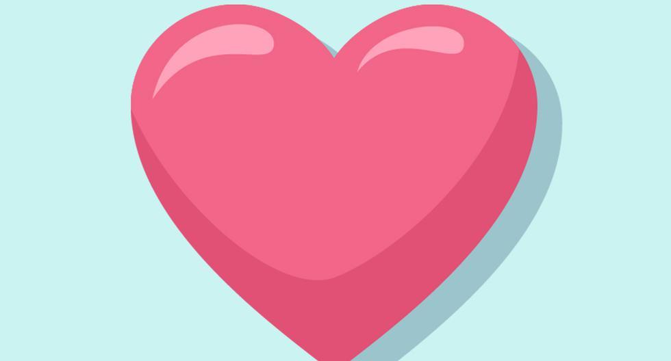 ¿Sabes lo que significa el corazón rosado de WhatsApp y para qué debes usarlo? (Foto: Emojipedia)