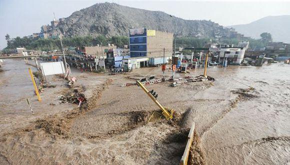 Indeci negó en febrero declarar en emergencia zonas afectadas