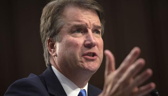 Brett Kavanaugh Senado de Estados Unidos vota para confirmar al candidato de Donald Trump a la Corte Suprema (Foto: AFP)