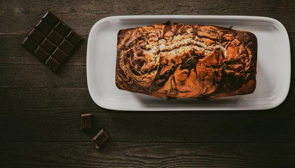 Con esta receta paso a paso conseguirás un queque marmolado espectacular (Foto: pexels)