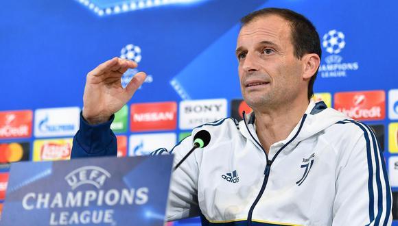 Juventus vs. Tottenham: Allegri supone que llave se decidirá en Londres. (Foto: AFP)