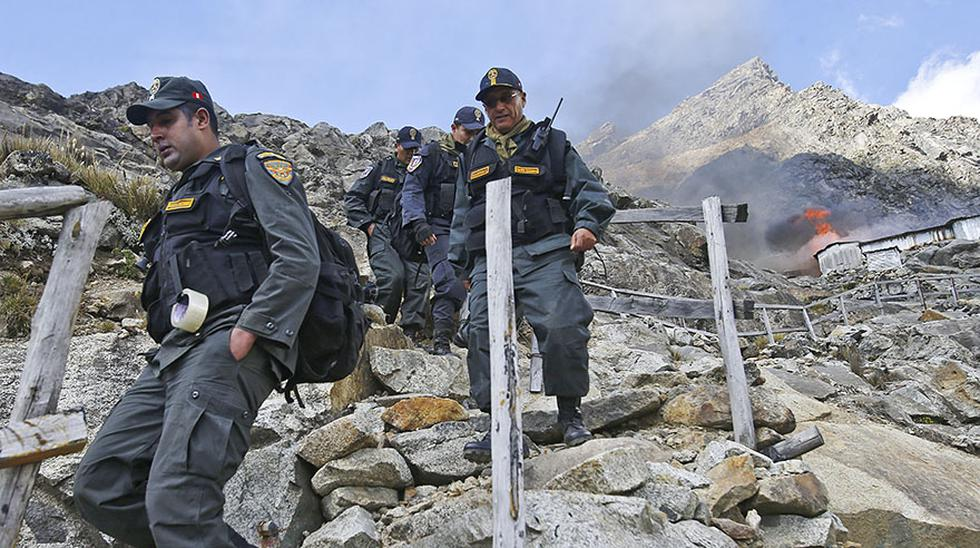 Áncash: mineros ilegales ocupaban el Parque Nacional Huascarán - 1
