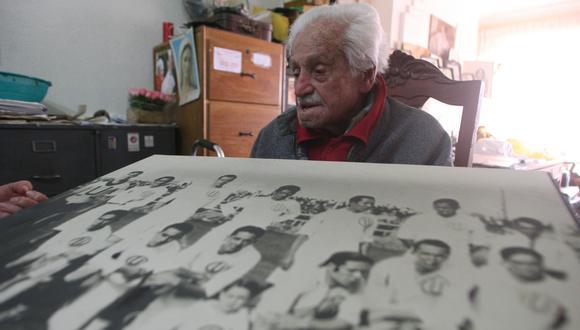 El Diario El Comercio ubicó a Luis de Souza en mayo de 2007. El también ingeniero aún recordaba su época como futbolista. (Foto: Rolly Reyna)
