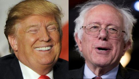 Trump y Sanders parten como favoritos en caucus de Iowa