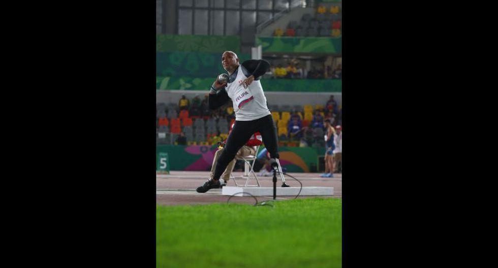 Parapanamericanos Lima 2019: Carlos Felipa ganó medalla de plata en lanzamiento de bala. (Foto: Violeta Ayasta)