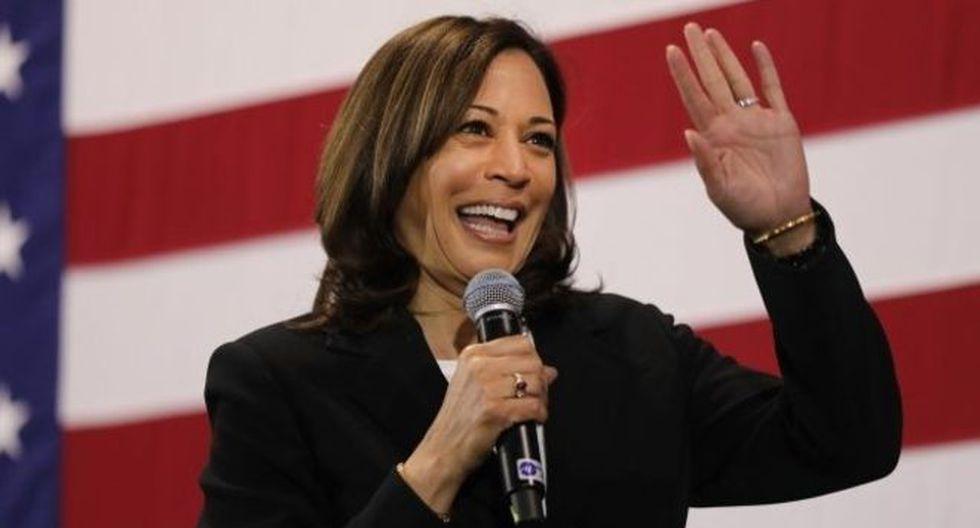 El equipo de la senadora demócrata Kamala Harris corrigió los errores que había en la versión en español de su página oficial y ahora es una de las más correctas de todos los precandidatos. (Foto: Getty Images)