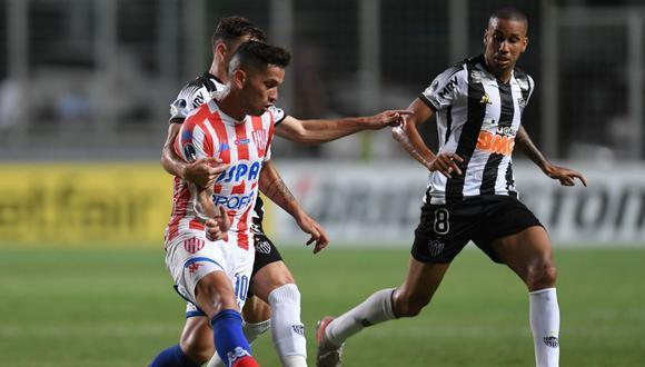 Unión cayó 2-0 frente a Atlético Mineiro pero le alcanzó para avanzar en la Copa Sudamericana 2020