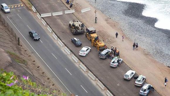 Costa Verde: tablistas denuncian que Emape incumplió acuerdo