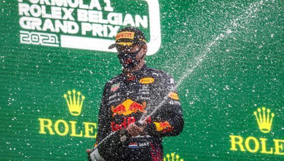 Max Verstappen (Red Bull) fue el ganador del Gran Prix de Bélgica.