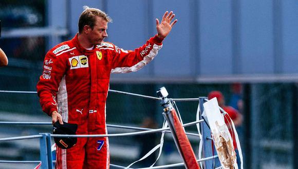 Raikkonen deja Ferrari, el equipo por el que firmó dos veces y va a Sauber, donde empezó su carrera en la F1 en 2001, para los próximos dos años. (Facebook/Ferrari)