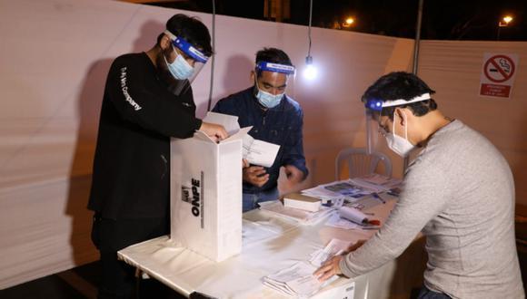 La ONPE anunció que dará a conocer los primeros reportes oficiales de las elecciones 2021 hacia las 11:30 pm de este domingo 11 de abril | Foto: ONPE