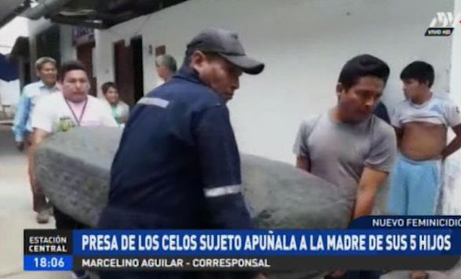 Williams Shupingahua Guerra (40) asesinó de varias puñaladas a su esposa, Magaly Acipali López (30), y luego se suicidó. (ATV+)