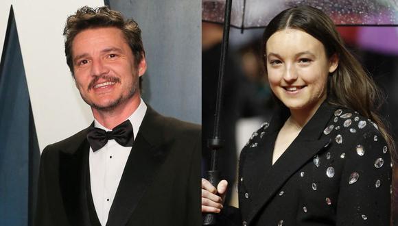 """HBO publicó el primer vistazo de Pedro Pascal y Bella Ramsey como Ellie y Joel en la serie """"The Last Of Us"""". (Foto: AFP)"""