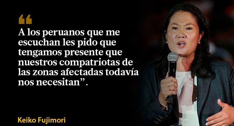 Las frases que dejó Keiko sobre donaciones y control de medios - 10