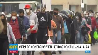 Coronavirus en Perú: cifra de contagios y fallecidos continúan al alza