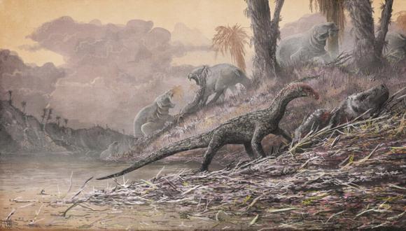 Los primeros parientes de los dinosaurios eran cuadrúpedos