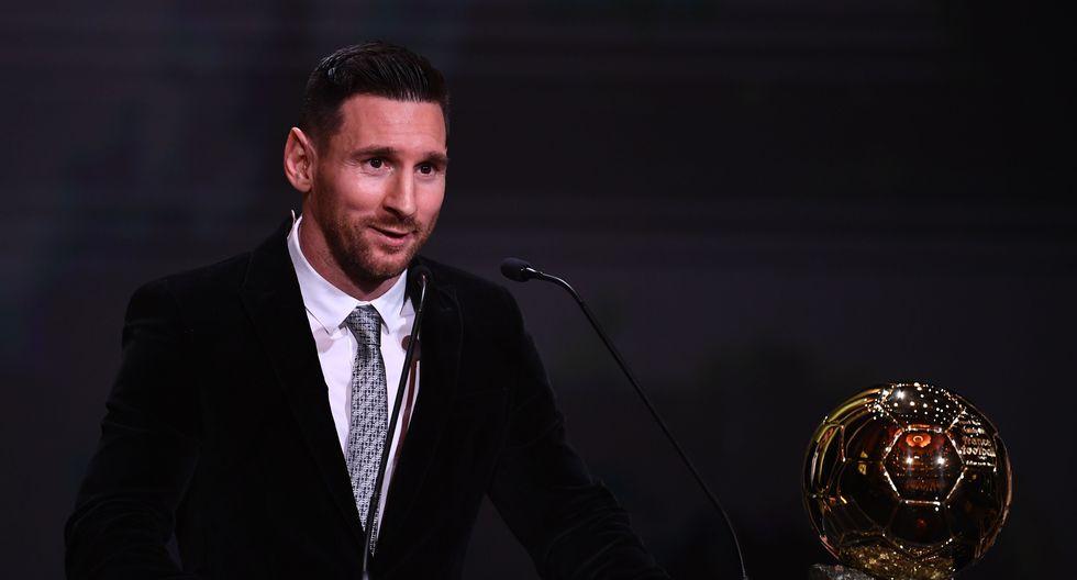 Lionel Messi ganó su sexto Balón de Oro | Foto: AFP