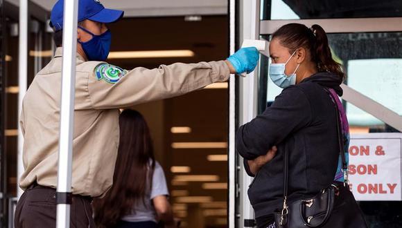 Coronavirus en Estados Unidos | Últimas noticias | Último minuto: reporte de infectados y muertos hoy, martes 13 de abril del 2021 | Covid-19. (Foto:  EFE/EPA/ETIENNE LAURENT).