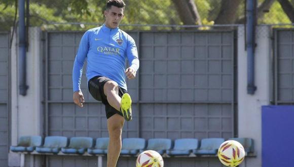 Cristian Pavón sin deseos de seguir en Boca Juniors (Foto: @BocaJrsOficial)
