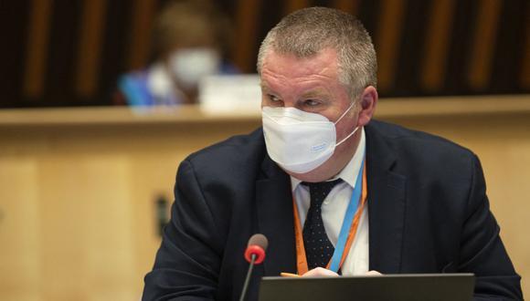 El director del Programa de Emergencias Sanitarias de la Organización Mundial de la Salud (OMS), Mike Ryan, en Ginebra. (Foto: Christopher Black / OMS / AFP).